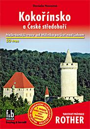 Kokořínsko a České středohoří - turistický průvodce Rother - Novotná Daniela - 115x167mm