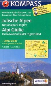Slovinsko - Julské Alpy, Triglav - mapa Kompass č.064 - 1:25 000