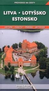Estonsko , Lotyšsko, Litva - průvodce Freytag