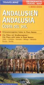 Španělsko - Andalusie, Costa del Sol - mapa Kunth - 1:300 000