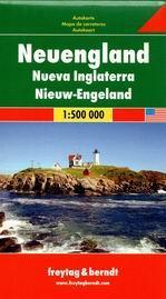 USA - New Englad - mapa Freytag - 1:500 000