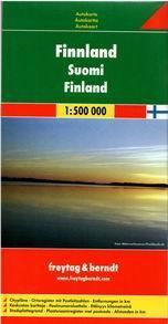 Finsko - mapa Freytag - 1:500 000