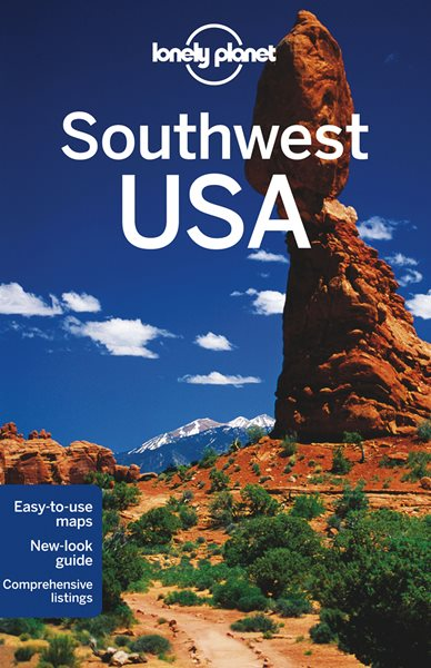 Southwest USA - Lonely Planet Guide Book - 6th ed. - 13x20 cm