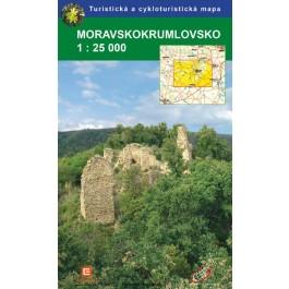 Moravskokrumlovsko - mapa GoL - 1:25t
