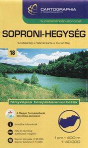 Maďarsko - Soproni-hegység - mapa CB č.18 - 1:40t