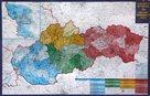 Slovenská republika - PSČ - 1:400 000 - nástěnná mapa /VKÚ/