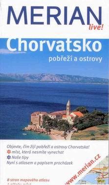 Chorvatsko - pobřeží a ostrovy - průvodce Merian č.94 - Klcker H. - 110x190mm, paperback