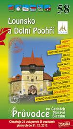 Lounsko, Dolní Poohří - průvodce Soukup-David č.58 /+volné vstupenky/ - Soukup V., David P. - 110x196mm, paperback