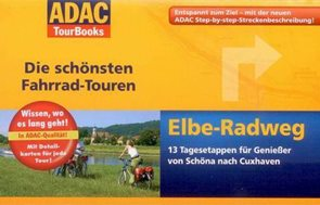 Elbe Radweg - cykloprůvodce ADAC - 1:75 000