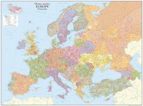 Spediční - Evropa - 1:4 250 000 - nástěnná mapa