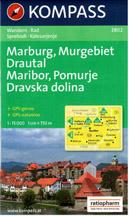 Slovinsko - sever - Drautal, Maribor, Pomurje, Dravska dolina - mapa Kopass č.2802 - 1:50 000