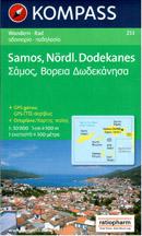 Řecko - Samos, jižní Dodekanésy - mapa Kompass č.253 - 1:50 000