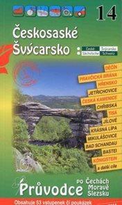 Českosaské Švýcarsko - průvodce Soukup-David č.14 /+volné vstupenky/