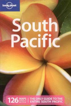 South Pacific /jižní Pacifik/ - Lonely Planet Guide Book - 4th ed. - A5, paperback
