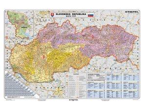 Slovenská republika - PSČ - 1:340 000 - nástěnná mapa /Stiefel/