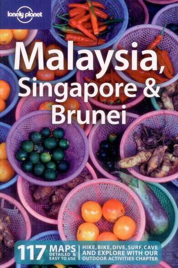 Malaysia, Singapore, Brunei - Lonely Planet Guide Book - 11th ed. - 130x200mm, paperback