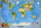 Svět - obecně zeměpisný - 1:38 931 000 - nástěnná mapa /National Geographic/