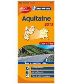 Francie - Aquitaine - mapa Michelin č.524 - 1:200 000