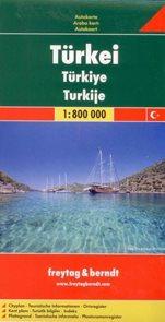 Turecko - mapa Freytag - 1:800 000