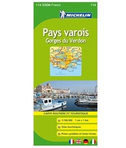 Francie -Mi114- Pays varois,Gorges du Verdon 1:100