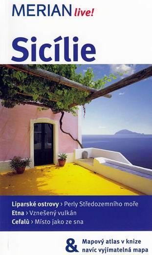 Sicílie - průvodce Merian č.42 - 3.vydání /Itálie/ - Ralf Nestmeyer - 11x19 cm