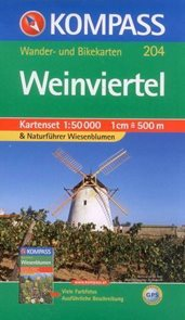 Wienviertel - set map Kompass č.204 - 1:50 000 /Rakousko/