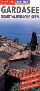 Itálie - Lago di Garda, severoitalská jezera - mapa Kunth-flexi - 1:90 000/1:300 000