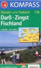 Darss, Zingst, Fischland - mapa Kompass č.736 - 1:50 000 /Německo/