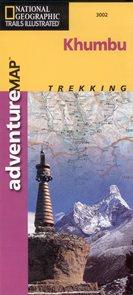 Khumbu - trekkingová mapa National Geographic - 1:125 000 /Nepál/