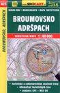 Broumovsko, Adršpach - mapa SHOCart č.425 - 1:40 000