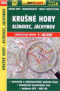 Krušné hory - Klínovec, Jáchymov - mapa SHOCart č.406 - 1:40 000