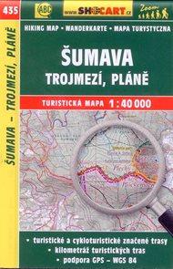 Šumava - Trojmezí, Pláně - mapa SHOCart č.435 - 1:40 000