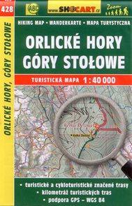 Orlické hory, Góry Stolowe - mapa SHOCart č.428 - 1:40 000