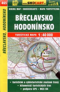 Břeclavsko, Hodonínsko - mapa SHOCart č.465 - 1:40 000
