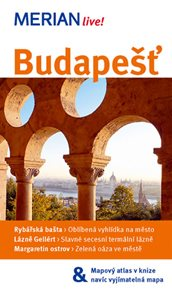 Budapešť - průvodce Merian č.45 /Maďarsko/
