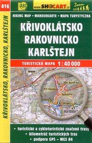 Křivoklátsko, Rakovnicko, Karlštejn - mapa SHOCart č.416 - 1:40 000