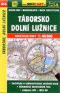 Táborsko, Dolní Lužnice - mapa SHOCart č.438 - 1:40 000