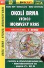 Okolí Brna - východ, Moravský kras - mapa SHOCart č.452 - 1:40 000
