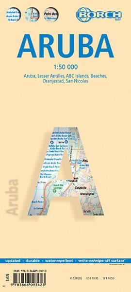 Aruba - mapa Borch - 1:50t