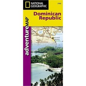 Dominikánská republika - mapa National Geographic 1:450 000