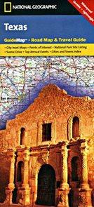 Texas - mapa National Geographi