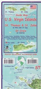 U.S. Virgin Islands Frako´s map