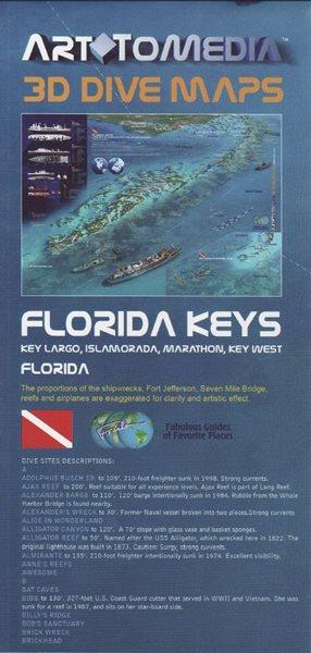 Florida Keys 3D Dive maps, Sleva 30%