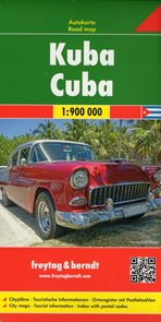 Kuba automapa 1:900 000