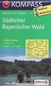 Mapa Südlicher Bayerischer Wald Kompass 1: 50 tis.