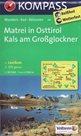 Mapa Matrei in Osttirol, Kals am Grossglockner Kompass 1: 50 tis.