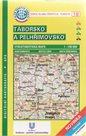 KČT Táborsko a Pelhřimovsko cyklomapa