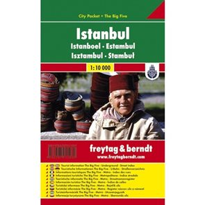 Istanbul - kapesní městský plán 1: 10 tis.