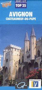 IGN mapa Avignon 1:25 000