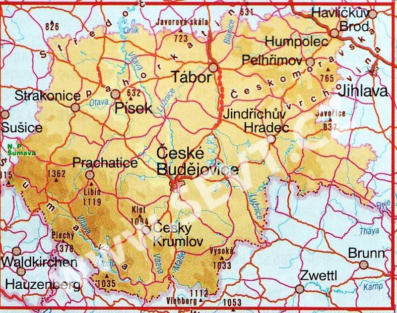 Rybarska Mapa Jizni Cechy 1 185 Tis Sevt Cz